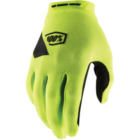 100% Ridecamp Guantes, fluo yellow